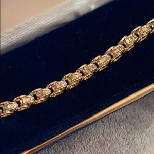Jewelry - Genuine Baguette Diamond Tennis Bracelet